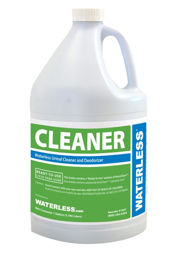 Waterless Co, urinal cleaner